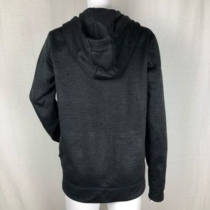 adidas Tops - Adidas Gray Zip Up Climawarm Hoodie Size M